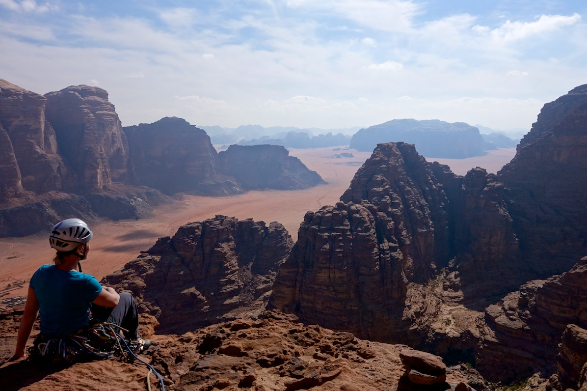 Aavikkomaisemia Hammadin beduiinireitiltä.
