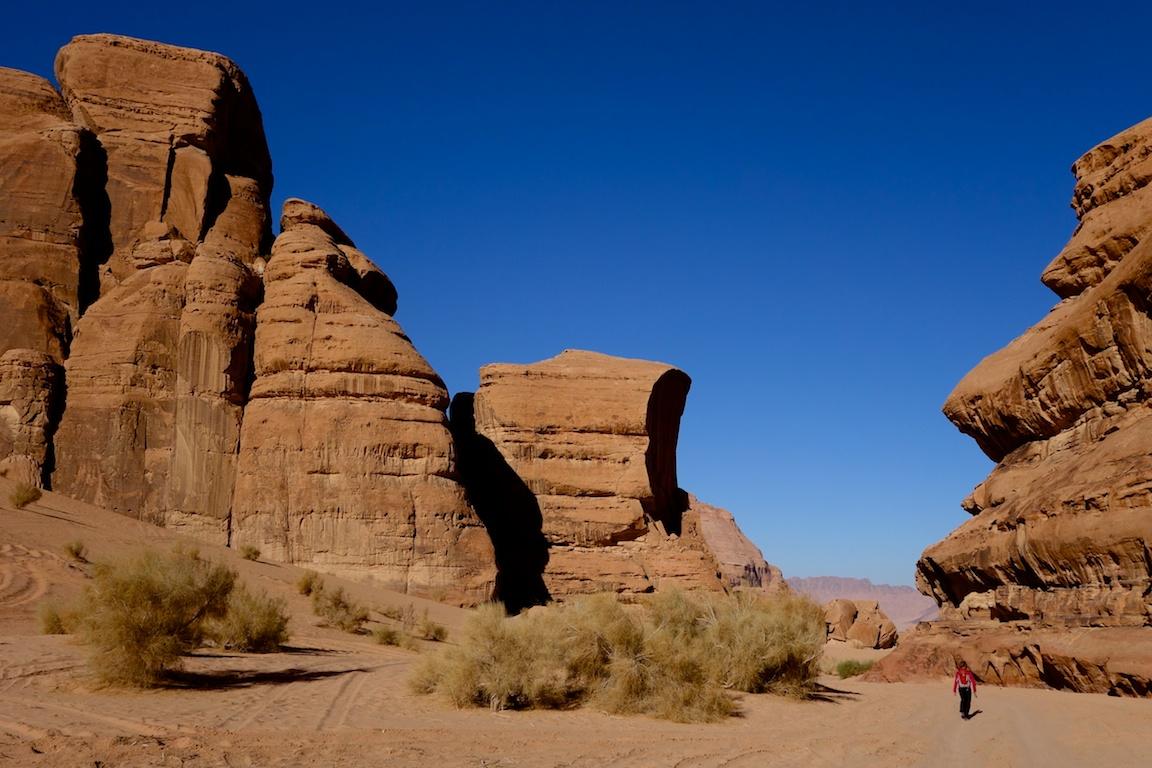 Barrah kanjonin kivimuodostelmia.